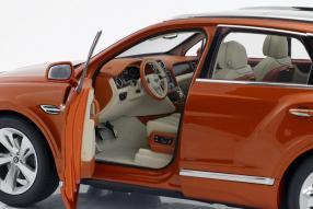 diecastcars Bentley Bentayga 2017 1:18