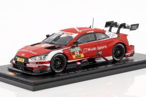 Modellautos Audi RS 5 DTM Rast 2018 1:43
