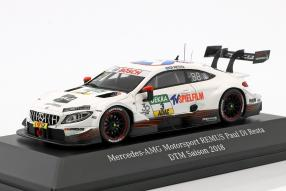 Miniatures Mercedes-AMG C 63 DTM 2018 1:43