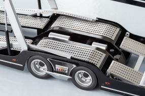 Modellautos NZG Auflieger Autotransporter 1:18