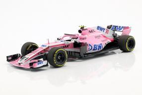 Force India Ocon 2018 1:18 Minichamps