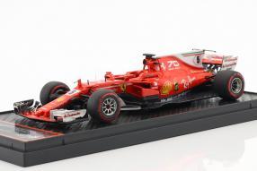 Vettel Ferrari SF70H 2017 1:43 BBR