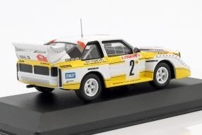 miniatures Audi Quattro sport E2 1986 1:43