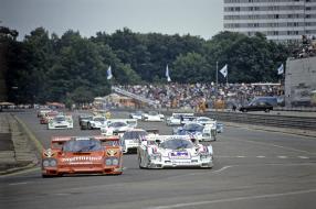 Stefan Bellof Brun Motorsport Porsche 956 1985 /  Foto: Porsche AG