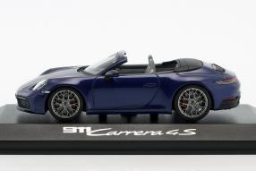 minatures Porsche 911 992 Cabriolet 2019 1:43