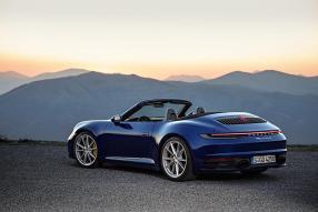 Porsche 911 992 Cabriolet 2019 / Foto: Porsche AG