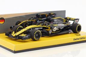 Nico Hülkenberg BahrainGP 2018 1:43 Minichamps