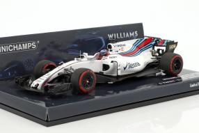 Gary Paffett Williamsn FW40 Test Car F1 2017 1:43 Minichamps