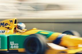 Benetton B192 Schumacher 1992, Copyright Foto: Iwao
