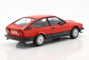 modelcars Alfa Romeo GTV6 1984 1:18 Solido