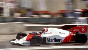 McLaren MP4-2 1984 in Dallas 1984, Copyright Foto: TWM1340