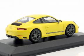 miniatures Porsche 911 Carrera T 2018 991.2 1:43