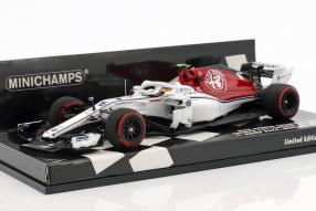 Alfa Romeo Sauber F1 LeClerc F1 2018 1:43 Minichamps