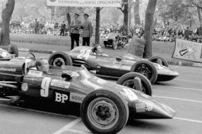 Niki Lauda 1969 in Budapest / Copyright Foto: Tamás Urbán