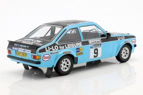 miniatures Ford Escort RS 1800 1:18