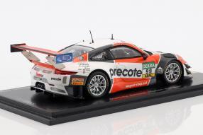 miniatures Porsche 911GT3R ADAC GT Masters 2018 Champion