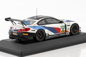 miniatures BMW M6 ADAC GT Masters 2018 1:43 Minichamps