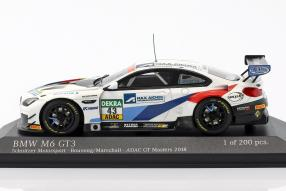 BMW M6 ADAC GT Masters No. 43 2018 1:43 Minichamps