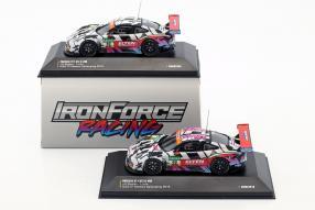 miniatures IronForce Porsche 911 GT3 R von CMR 1:43