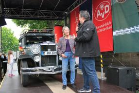 Heidi Hetzer in der Classic Remise Berlin 2017