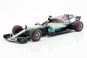 Hamilton Mercedes-AMG F1 W08 2017 1:18