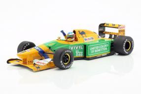 Michael Schumacher Benetton B 192 F1 1992 1:18
