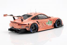 modelcars Porsche 911 RSR GTE Pink Pig 2018 1:18