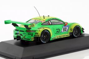 modellautos miniatures Porsche 911 GT3 R 1:43 Manthey Racing 2018