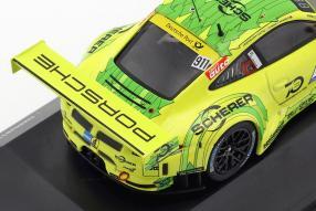 miniatures diecast Porsche 911 GT3 R Grello 1:43 Manthey Racing 2018