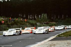 Stefan Bellof Porsche 956 Nürburgring 1983, Copyright Foto: Porsche AG