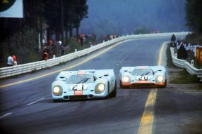 Porsche 917 1970 Nr. 21 und 20, dieses Mal allerdings in Spa