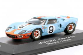Ford GT40 Gulf No. 9 winner Le Mans 1968 1:43