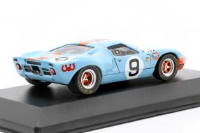 modelcars Ford GT40 Gulf No. 9 winner Le Mans 1968 1:43