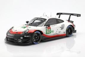 Porsche 911 RSR Le Mans 2018 1:12