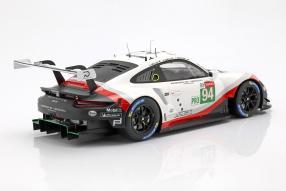 Modellautos Porsche 911 RSR Le Mans 2018 1:12