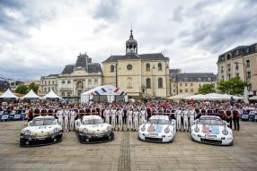 Porsche in Le Mans 2019, Copyright Foto: Porsche AG