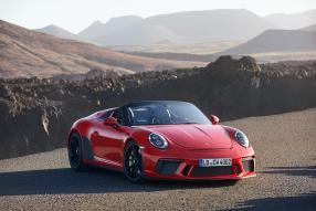 Porsche 911 Speedster 2019, Copyright Foto: Porsche AG