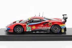 modelcars Ferrari 488 GTE Le Mans 2018 1:43
