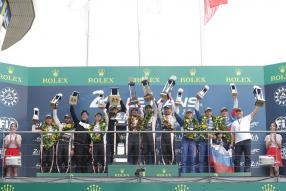 Die Sieger von Le Mans 2019, Copyright Foto: Toyota Deutschland GmbH