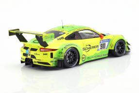 modelcars Porsche 911 GT3R Manthey Racing Grello 2017 1:18