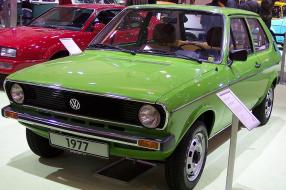 VW Polo 1979, Copyright Foto: Stahlkocher