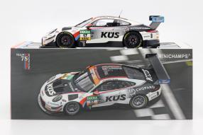 Modellautos Porsche 911 GT3R KÜS Team75 Bernhard ADAC GT Masters 2018 1:18