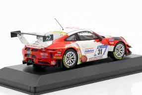 modelcars Porsche 911 GT3 R 2018 Frikadelli Racing 1:43
