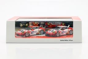Porsche 911 GT3 R 2018 Frikadelli Racing Set 1:43 by Minichamps