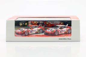 Porsche 911 GT3 R 2018 Frikadelli Racing Set 1:43 by Minichamps