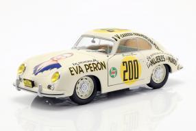 Porsche 356 pre-A 1953 1:18 Eva Peron