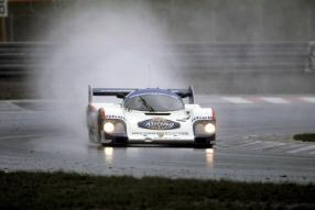 Bellof Porsche 956  13.-15.7.1984 Int. ADAC 1000 km Rennen Nürburgring / Copyright Foto: Porsche AG