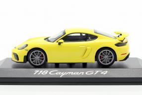 Modellautos Porsche 718 Cayman GT4 2019 1:43