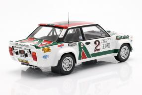 modelcars modellautos Fiat 1314th  Rallye Monte Carlo 1978 1:18