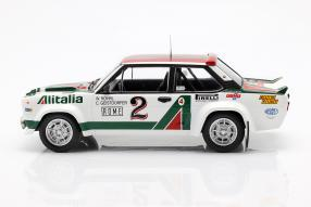 diecast miniatures Fiat 1314th  Rallye Monte Carlo 1978 1:18